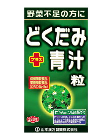 どくだみ+青汁粒 280粒 - 山本漢方製薬