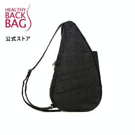 《クリアランス》 公式ストア ヘルシーバックバッグ モアレ Mサイズ ブラック