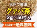 グァバ茶100%3gティーバッグ×50包入り【2袋まで送料無料/メール便/健康茶/ノンカフェイン/グアバ茶】
