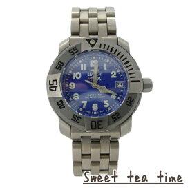 セクター 腕時計 メンズ SECTOR 舶来時計 DIVING TEAM 1000 自動巻 ブルー文字盤 チタン ウオッチ 223285035 正規品【送料無料】【o】【P02】【SS3】【ギフト】