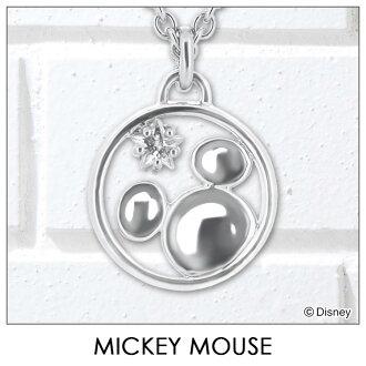 迪斯尼项链迪斯尼米老鼠银饰品女士配件吊坠项链 vpcs20042 米奇