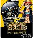 ONE PIECE グッズ ワンピース 腕時計 ワンピース・プレミアムコレクション INDEPENDENT(インディペンデント) × 『ONE PIECE FILM GOLD』公開記念 スペシャルコラ
