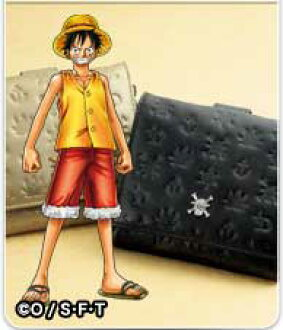 A great ONE PIECE one piece premium collection purse leather purse (ground & wallets ) iei-4700