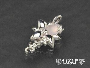 ウズ UZU ペンダントトップ レディース ジュエリー アクセサリー シルバー ローズクォーツ TOP NE-947-TOP 【ni】【ギフト】