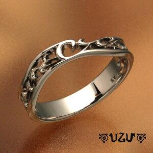 ウズ UZU 指輪 レディース RI-1418-BRコーティング ジュエリー アクセサリー シルバーリング【CP30】【ni】【ギフト】