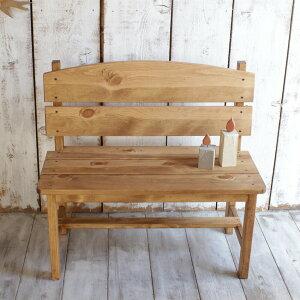 ベンチ 木製 パイン材 全2色 玄関 ガーデンベンチ おしゃれ ガーデニング イス 椅子 木製 アンティーク 北欧 ウッドベンチ 北欧家具 新生活