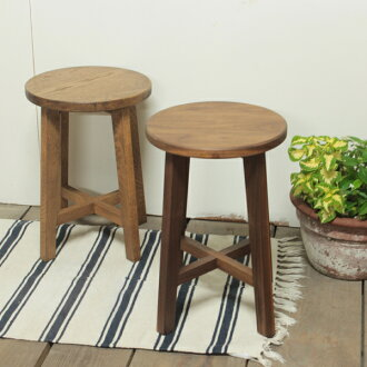 凳子/櫟材、胡桃材!  清白的凳子北歐椅子圓椅子天然