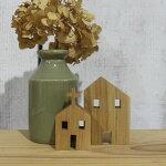 ミニチュアハウス・Lサイズ[メール便で送料無料!]木製北欧オブジェ家雑貨教会インテリアクリスマス【10P23Apr16】