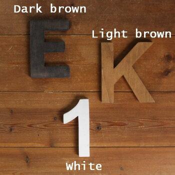 木製ナンバー切文字