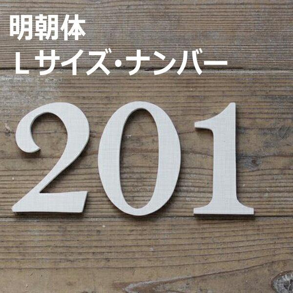 木製 ナンバー 明朝体・Lサイズ(高さ17.5cm基準) アルファベット オブジェ 雑貨 インテリア 置物 結婚式 ウエルカムボード 切り文字 表札 看板