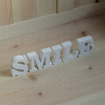 木製アルファベット・無垢材・ミニ自立タイプ