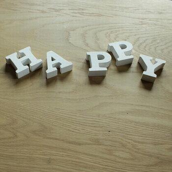 木製アルファベット無垢材・ミニ自立タイプ[メール便で送料無料!]アルファベットオブジェ北欧雑貨インテリア置物結婚式ウエルカムボード切り文字表札看板[lucky5days]