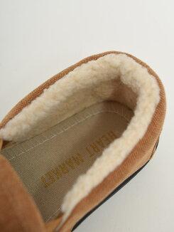 ボアスリッポンレディース,靴,サイドゴア,シューズ,スリッポン,ボア,ナチュラル,カジュアル,あったか,冬