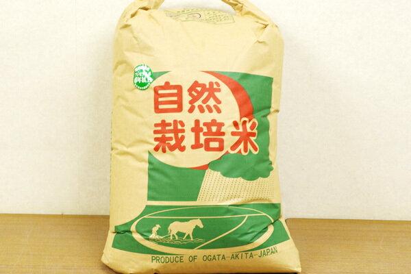 無肥料・自然栽培米 ササニシキ玄米30kg(プレミアム6)