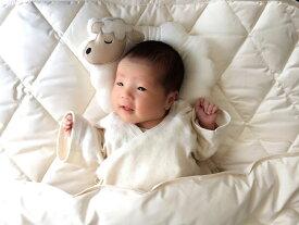 日本製 オーガニック認定 天使のベビーふとん (4点セット) ふとん 安心 安全 布団セット
