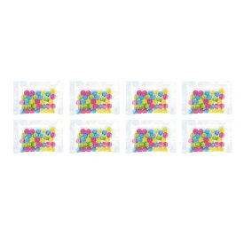 【メール便専用】詰替用6φラムネ(新4色)8袋【単品発送専用】