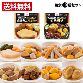 【介護食 区分3 介護食品 舌でつぶせる おいしい セット】エバースマイル ムース食 和食10種セット