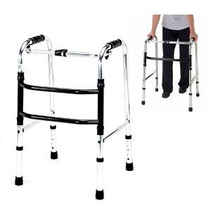 【手押し 車 歩行器 老人 自立 介護】マキテック 歩行器 ミニタイプ 交互型 / HKM-200
