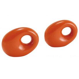 【介護用品 福祉用具 生活支援 リハビリ 運動 ダンベル】タニタサイズ リングダンベル オレンジ 0.5kg