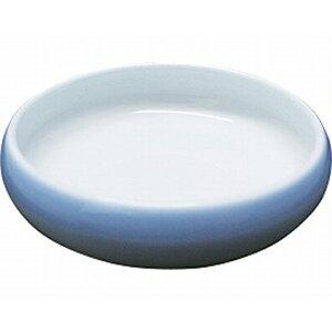 【介護用 介護食器 皿 お椀 持ちやすい】夢食器虹彩 5寸鉢 / No.3 淡ブルー