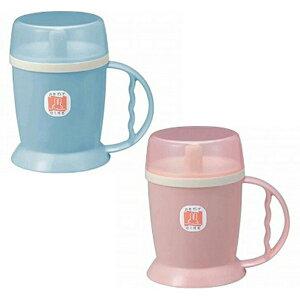 【介護用 コップ マグカップ 福祉 食事 食器 軽量 電子レンジ 食洗機】吸い口付きマグカップ 360ml