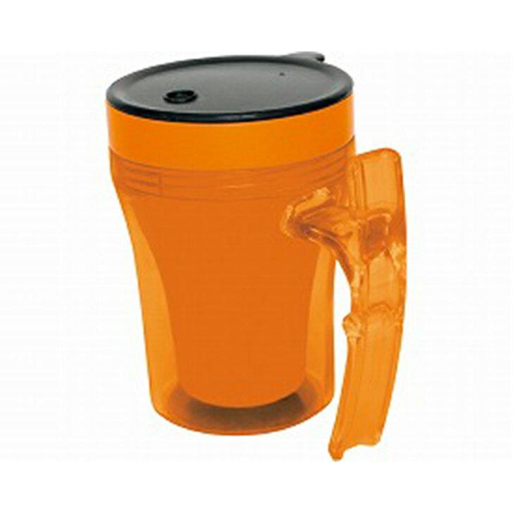 【介護用 コップ マグカップ 福祉 食事 食器 軽量】幸和製作所 テイコブ マグカップ / C02 オレンジ