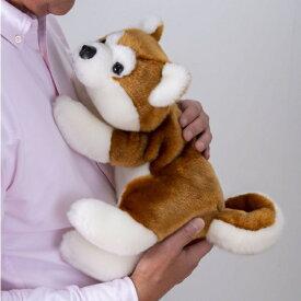 【限定クーポン】【選べるプレゼント付♪】【送料無料】なでなでワンちゃん 秋田犬 HACHI ハチ
