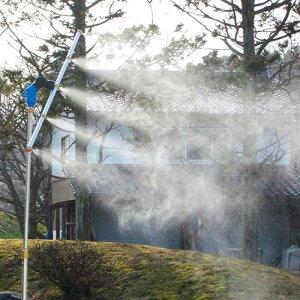 家庭用ミストシャワー 魔法のミストスタンド 霧吹き 散水機 家庭用 ミストシャワー 猛暑 ひんやり 涼感 軽量 自立型 ミストスタンド 熱中症対策 節水タイプ グッズ おすすめ 人気