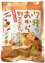 【限定クーポン】【送料無料】7種のおから野菜チップス 85g×10個セット