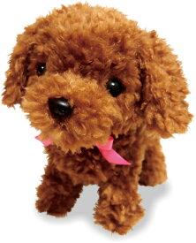 元気な仔犬 トイプードルのショコラちゃん ぬいぐるみ 動くぬいぐるみ 電子ペット 動くおもちゃ 犬 おもちゃ 動く犬 子供 キッズ 幼児 誕生日 プレゼント 育成会 二次会 景品 人気