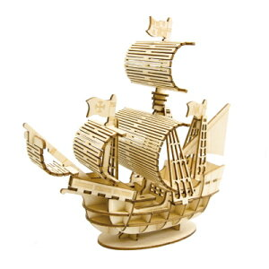 ki-gu-mi 帆船 パズル キグミ 木製パズル 大人 木製 木製立体パズル 脳トレ 母の日 父の日 敬老の日 誕生日 プレゼント ギフト