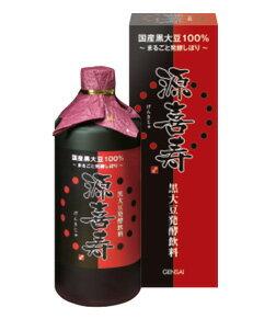 黒大豆発酵飲料「源喜寿」 720ml入り
