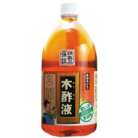 【限定クーポン】【送料無料】木酢液 1リットル×3個セット