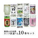 日本酒 お好きなカップ酒が選べる 新潟 地酒 10本セット