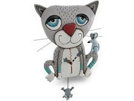 Allen Designs アレン・デザイン ネズミを捕る猫の振り子時計 Mouser Cat ClockMichelle Allenデザイン おすすめです♪