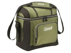 Coleman コールマン ソフトクーラー・キャリーバッグ (緑) 缶ジュース16本分