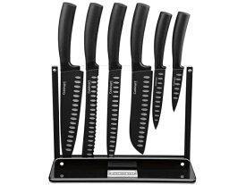 Cuisinart クイジナート ノンスティック・ナイフ7点セット (ブラック)