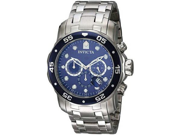 Invicta インビクタ Pro Diver 0070 男性用48mm腕時計・クロノグラフ プロダイバー・シリーズ おすすめです♪