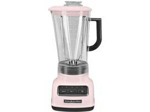 【2年保証・変換プラグ付】 KitchenAid キッチンエイド 5段階スピード切替ダイヤモンド・ブレンダー (ピンク)