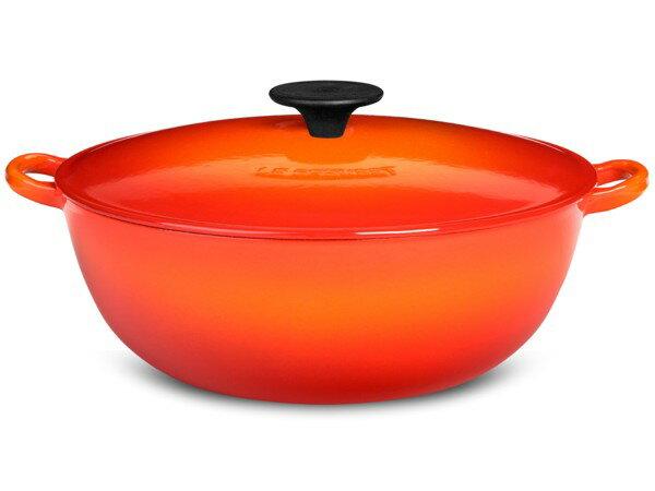 Le Creuset ル・クルーゼ 24cmマルミット (オレンジ) ルクルーゼ