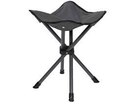 Stansport スタンスポーツ ポータブル・スツール (グレー) 折りたたみ椅子