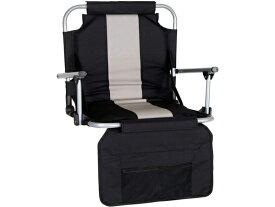 Stansport スタンスポーツ スタジアム・シート (黒) 球場観戦用折りたたみ椅子