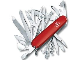 Victorinox ビクトリノックス Swiss Army 33機能マルチツール Swiss Champ Pocket Knife (赤)