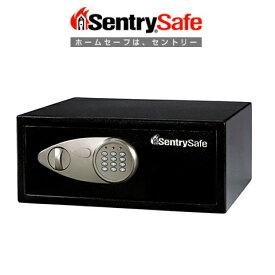 【sentry/セントリー】 パーソナルセキュリティ保管庫 (テンキータイプ) 24.0L ブラック X075 A4用紙サイズ収納可