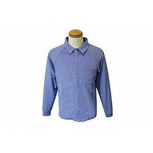 【お買い物マラソン ポイント5倍】トリニティ らくらく前開きニットシャツ メンズ NULL【衣類・介護用品・男性用・紳士用・ニットシャツ・父の日】