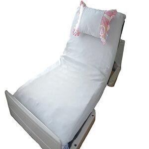 ふれあいサポート 新快適介護シーツ(枕ホルダー付)【介護用品 福祉用具 床周り ベッド用品 シーツ シングル ダブル マットレス 介護 全身タイプ】