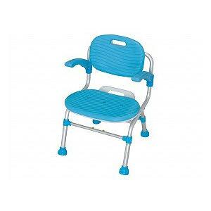 幸和製作所 折りたたみシャワーチェア テイコブSC01(肘掛け付)【入浴いす シャワーチェア 介護 椅子 風呂 シャワーベンチ 浴槽台】
