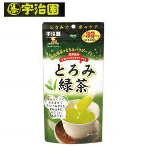 宇治園 とろみ緑茶 100g【介護食 とろみ とろみ剤 簡単 嚥下障害】