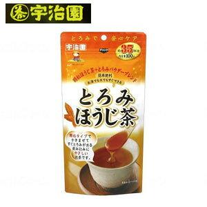 宇治園 とろみほうじ茶 100g【介護食 とろみ とろみ剤 簡単 嚥下障害】