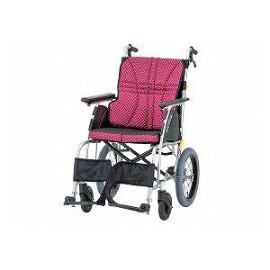日進医療器 ウルトラシリーズ標準タイプ NAH−U1(介助型車いす)【車椅子 車いす 介助用 軽量 折りたたみ アルミ】